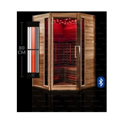 saunas para casa y de infrarrojos comprar online todopiscinasycalefacci n. Black Bedroom Furniture Sets. Home Design Ideas