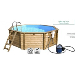Piscina madera desmontable Gama plus