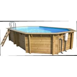 Piscina madera desmontable Premium