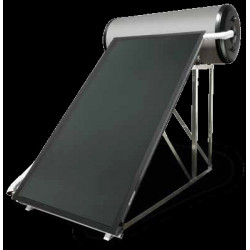 Conjunto solar Termosifón DS-Compact inox. 1.150 NT Tejado Inclinado DOMUSA