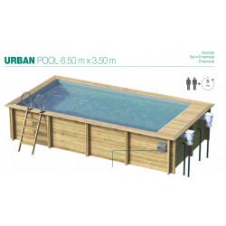 Urban Pool 650 cm x 350 cm